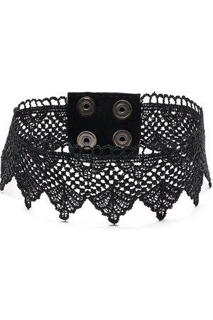 Manokhi Cotton lace choker necklace