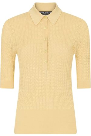 Dolce & Gabbana Knitted polo shirt