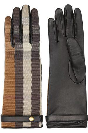 Burberry Women Gloves - Technical check gloves