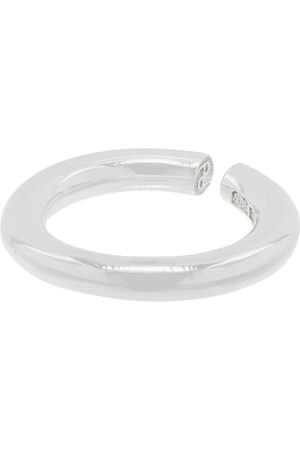 ALL BLUES Sterling Almost smooth ring