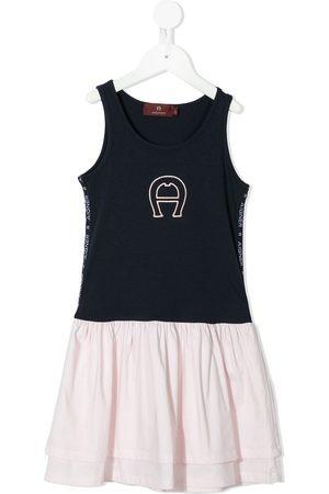 Aigner Layered A-line T-shirt dress
