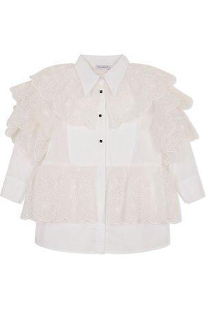 Dolce & Gabbana Ruffled button-up shirt dress