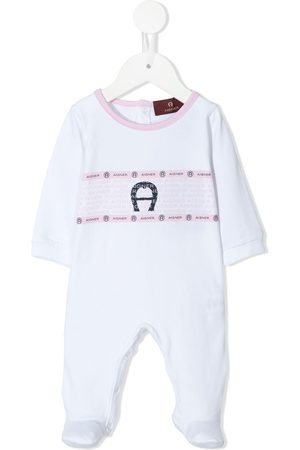 Aigner Logo-print baby grow