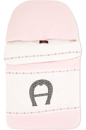 Aigner Baby Baby Changing Bags - Logo-print nest