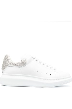 Alexander McQueen Oversized leather trainers