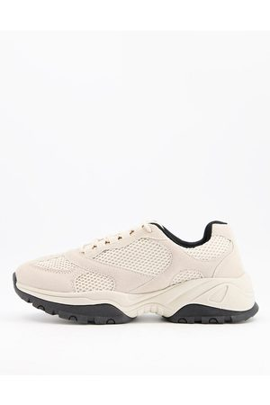 ASOS Multi panel trainers in mix
