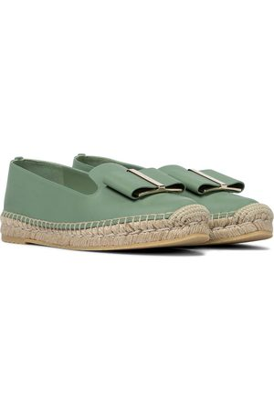 Salvatore Ferragamo Exclusive to Mytheresa – Leather espadrilles