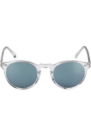Oliver Peoples Gregory Peck 1962 58MM Round Sunglasses