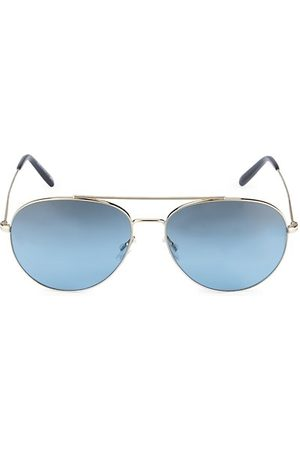 Oliver Peoples Airdale 58MM Aviator Sunglasses