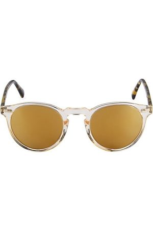 Oliver Peoples Gregory Peck 1962 50MM Round Sunglasses