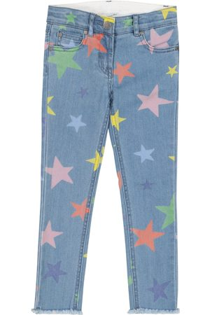 Stella McCartney Star-print stretch-denim jeans