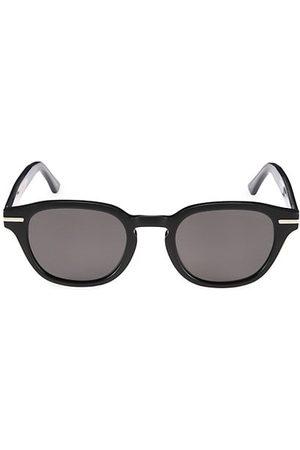 Cutler and Gross Men Sunglasses - 55MM Round Keyhole Sunglasses