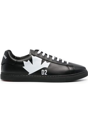 Dsquared2 Men Sneakers - Maple leaf leather sneakers
