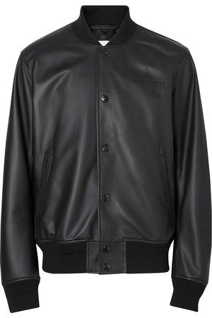 Burberry Men Bomber Jackets - Embossed logo bomber jacket
