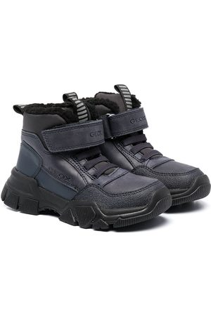 Geox Ankle-length touch-strap boots