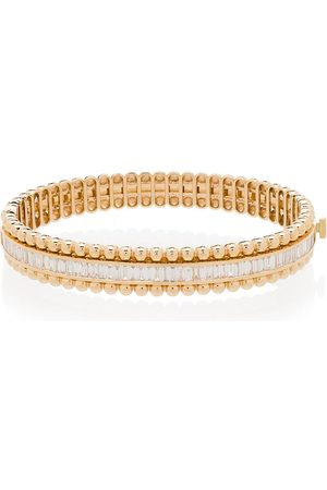 Shay 18K yellow diamond ball stretch bracelet