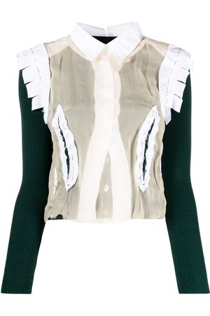 Maison Margiela Deconstructed shirt jumper