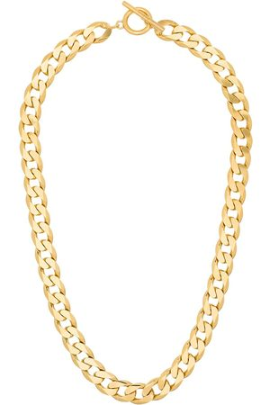 ALL BLUES Chain-link vermeil necklace