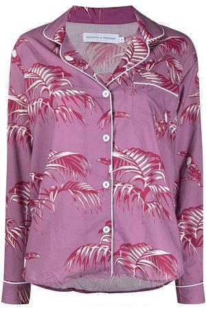 Desmond & Dempsey Women Pyjamas - Floral-print pyjama set