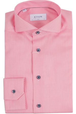 Eton Men Tops - Overhemd Rood 100001411 55
