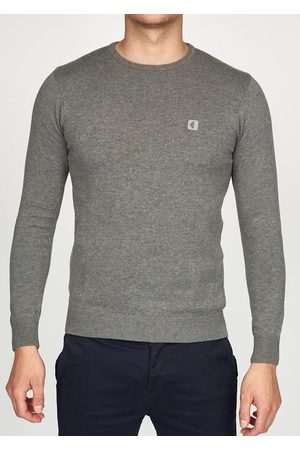 Gabicci Men Jumpers - Cole Knitted Crew-Neck Jumper