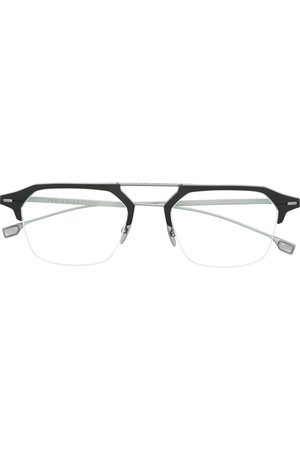 HUGO BOSS Logo square glasses