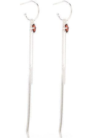 WOUTERS & HENDRIX Embellished chain-link hook earrings