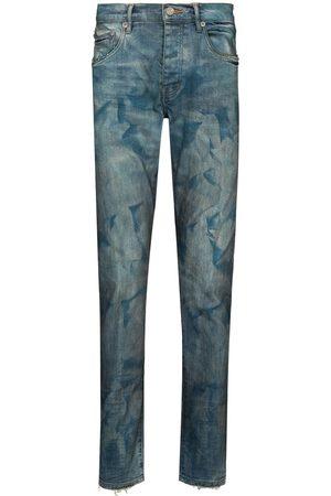 Purple Brand Men Skinny - Bleached effect skinny jeans