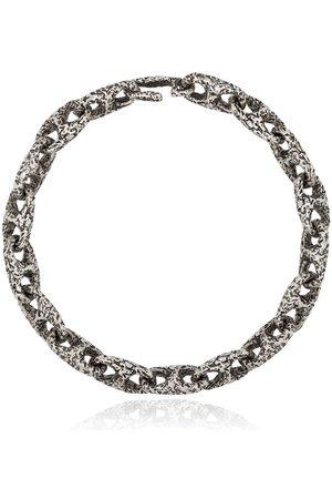 M. COHEN Men Bracelets - Hammered chain-link bracelet