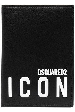 Dsquared2 Icon print cardholder