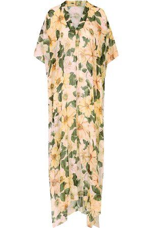 Dolce & Gabbana Women Printed Dresses - Floral-print silk maxi dress
