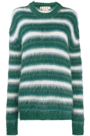 Marni Women Jumpers - Striped knitted jumper