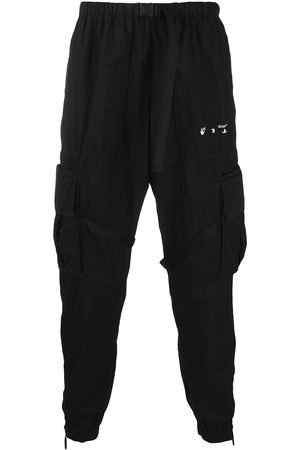 Off-White Men Cargo Pants - Parachute cargo trousers