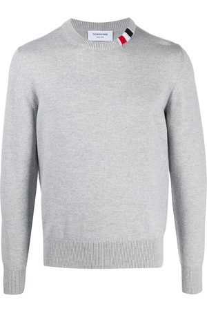 Thom Browne Relaxed fit crew neck sweater