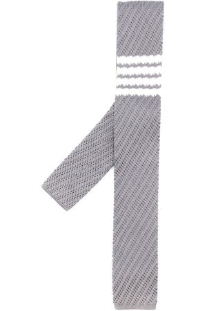 Thom Browne 4-bar silk tie