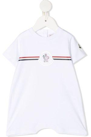 Moncler Logo-stripe bodysuit