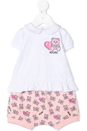 Moschino Girls Tracksuits - Teddy Bear two-piece tracksuit