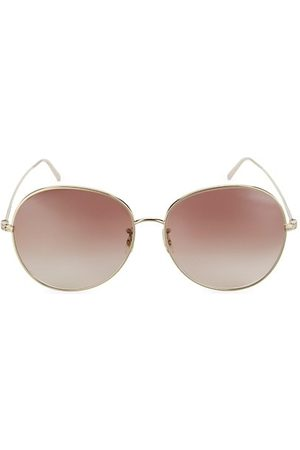 Oliver Peoples Ysela 60MM Oval Sunglasses