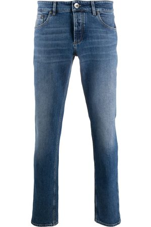 Brunello Cucinelli Men Slim - Mid-rise slim-fit jeans