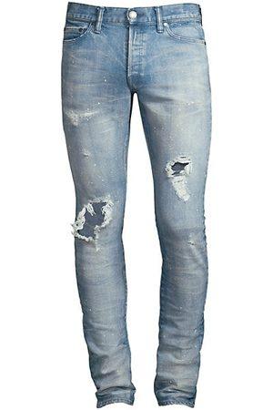JOHN ELLIOTT The Cast 2 Distressed Slim Jeans