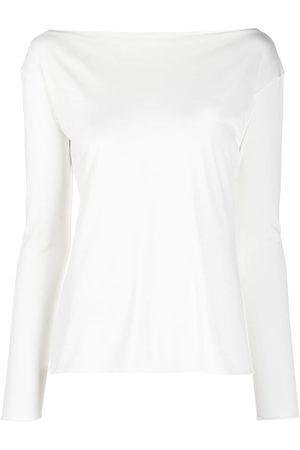 Emilio Pucci Women Long Sleeve - Boatneck long-sleeve top