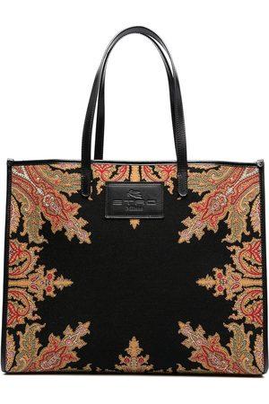 Etro Women Handbags - Paisley print tote bag