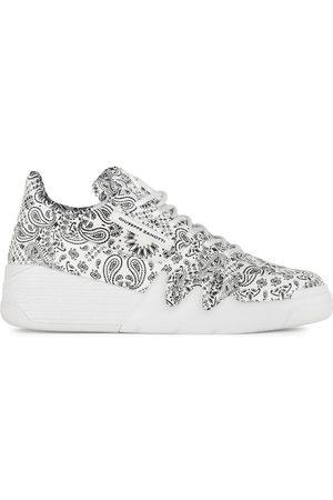 Giuseppe Zanotti Talon paisley print sneakers
