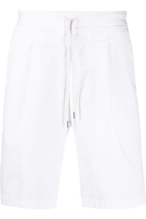 Armani Multi-pocket drawstring waist shorts