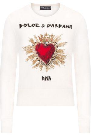 Dolce & Gabbana Amore print T-shirt