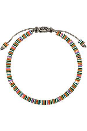M. COHEN Beaded sterling bracelet