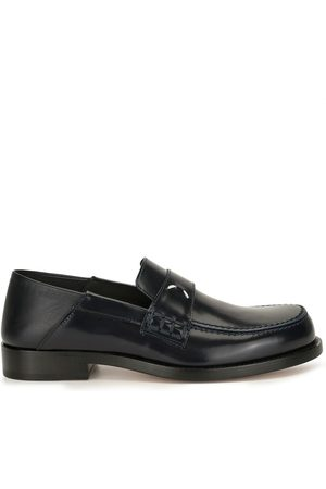 Maison Margiela Leather four-stitch loafers