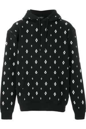 MARCELO BURLON Printed hooded sweatshirt