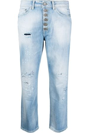 Dondup Women Jeans - Distressed cropped jeans