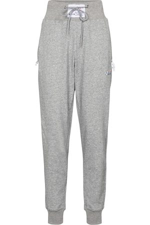 Adam Selman Sport High-rise cotton-blend trackpants